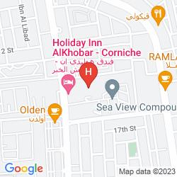 Map HOLIDAY INN AL KHOBAR - CORNICHE