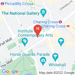 Map THE TRAFALGAR ST. JAMES LONDON, CURIO COLLECTION BY HILTON