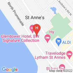 Map BEST WESTERN GLENDOWER