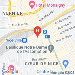 Map ANTARES
