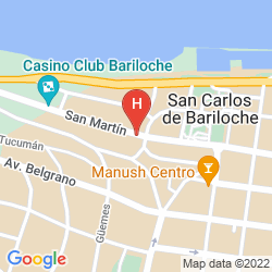 Map NH BARILOCHE EDELWEISS