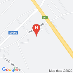 Map BEST WESTERN PARK
