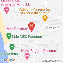 Map MEC PAESTUM HOTEL