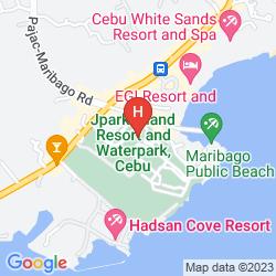 Map JPARK ISLAND RESORT & WATERPARK