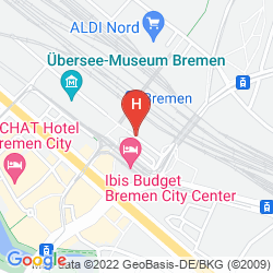 Map STAR INN HOTEL BREMEN COLUMBUS