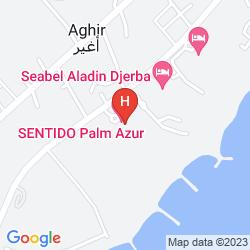 Map PALM AZUR