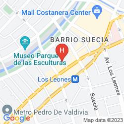 Map PROVIDENCIA SUITE APARTMENT