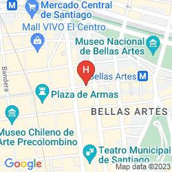 Map TORRE TAGLE SANTIAGO CENTRO