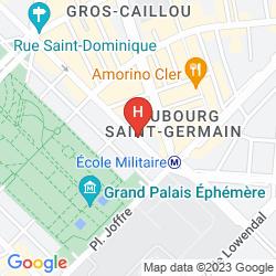 Map LA BOURDONNAIS