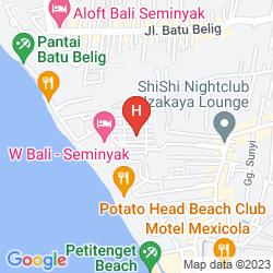 Map W BALI - SEMINYAK