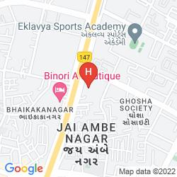 Map THE FERN - AN ECOTEL HOTEL