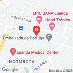 Map SKYNA HOTEL
