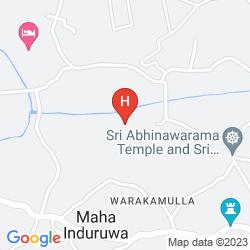 Map TAJ BENTOTA RESORT & SPA, SRI LANKA