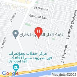 Map HILTON CAIRO HELIOPOLIS