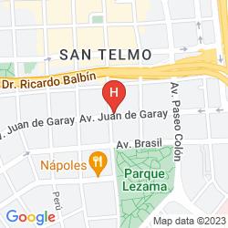 Map DEFENSA SUITES