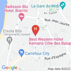 Map BEST WESTERN KEMARIS
