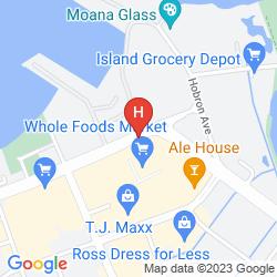 Map MAUI BEACH HOTEL