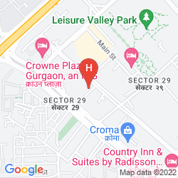 Map LEMON TREE PREMIER 1, GURUGRAM