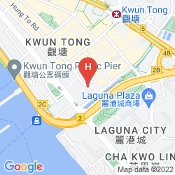 Map DORSETT KWUN TONG, HONG KONG