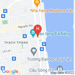 Map NOVOTEL DANANG PREMIER HAN RIVER