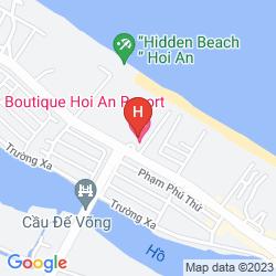 Map BOUTIQUE HOI AN RESORT