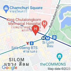 Map AKYRA THONGLOR BANGKOK