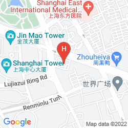 Map REGENT SHANGHAI PUDONG