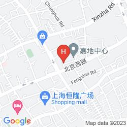 Map THE ST. REGIS SHANGHAI JINGAN