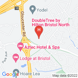 Map DOUBLETREE BY HILTON HOTEL BRISTOL NORTH