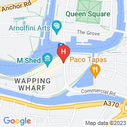 Map NOVOTEL BRISTOL CENTRE