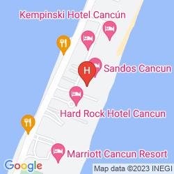 Map SECRETS THE VINE CANCUN