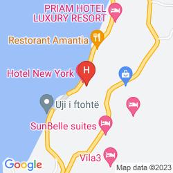 Map HOTEL NEW YORK