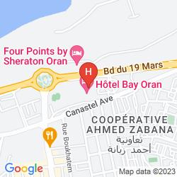 Map SHERATON ORAN HOTEL