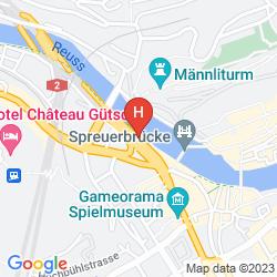 Map DE LA PAIX