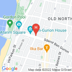 Map YARDEN SEA SIDE APARTMENTS