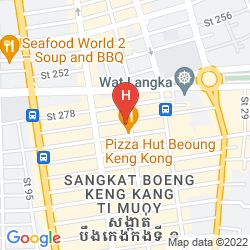 Map KING GRAND SUITES BOUTIQUE HOTEL