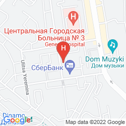 Map MARINS PARK  HOTEL