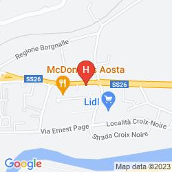 Map CLASSHOTEL AOSTA