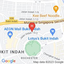 Map GRANADA JOHOR BAHRU