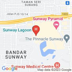 Map SUNWAY PYRAMID TOWER & RESORT