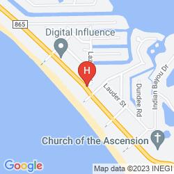 Map SANDPIPER GULF RESORT