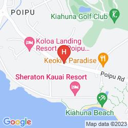 Map OUTRIGGER KIAHUNA PLANTATION