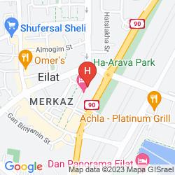 Map AFI PATIO EILAT