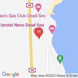 Map ISROTEL DEAD SEA