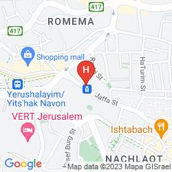 Map CAESAR PREMIER JERUSALEM