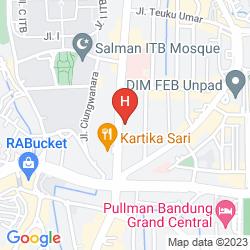 Map THE PALAIS HOTEL DAGO