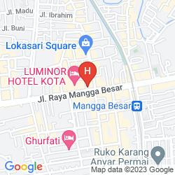 Map PRINSEN PARK