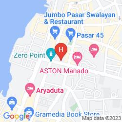 Map ASTON MANADO