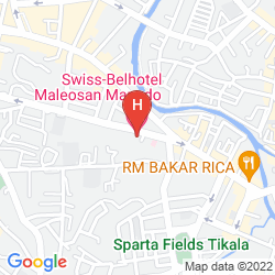 Map SWISS-BELHOTEL MALEOSAN MANADO