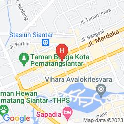 Map SWISS-BELINN MEDAN